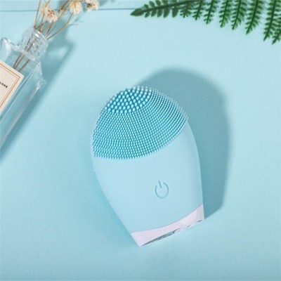 Facial Cleansing Brush Electric Silicone Cleaner Sonic Vibration Deep Pore Cleaning